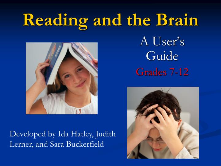 reading and the brain n.