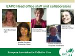 eapc head office staff and collaborators