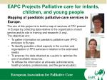 eapc projects palliative care for infants children and young people