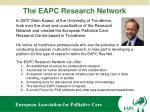 the eapc research network