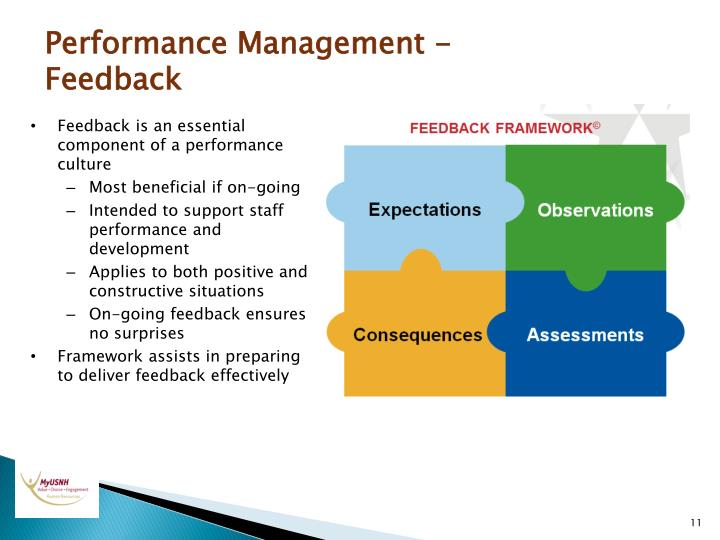Performance Management - Feedback