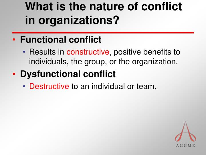 positive outcomes of conflict Win-win outcomes occur when each side of a dispute feels they have won since both sides benefit from such a scenario, any resolutions to the conflict are likely to.