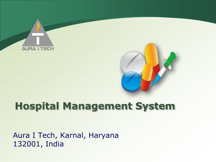 Ppt Hospital Management System Powerpoint Presentation Free Download Id 1569869