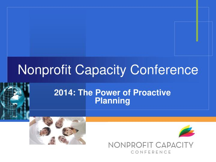 nonprofit capacity conference n.