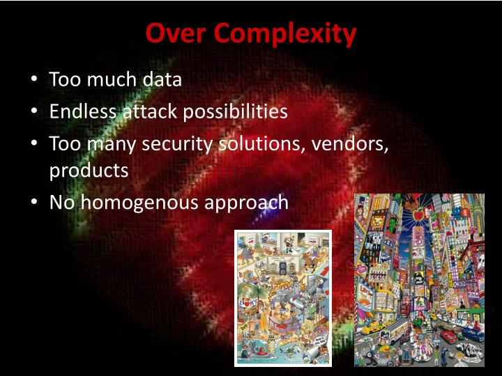 Over Complexity