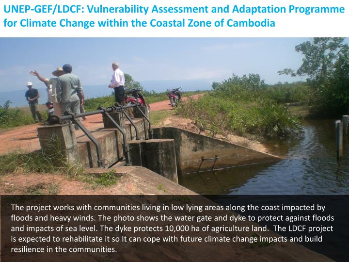 UNEP-GEF/LDCF: Vulnerability Assessment and Adaptation