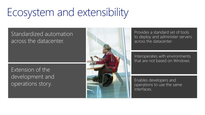 Ecosystem and extensibility
