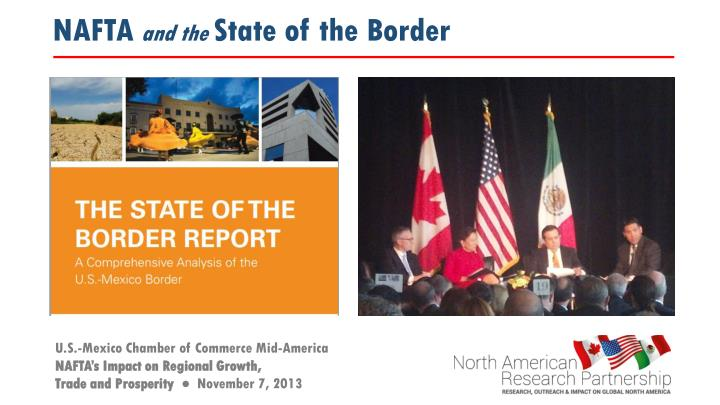 nafta and the state of the border n.