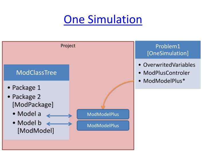 One Simulation