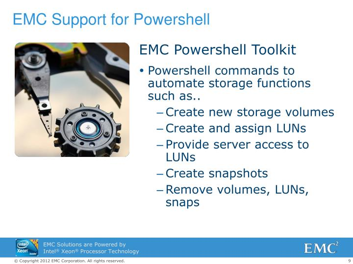 EMC Support for