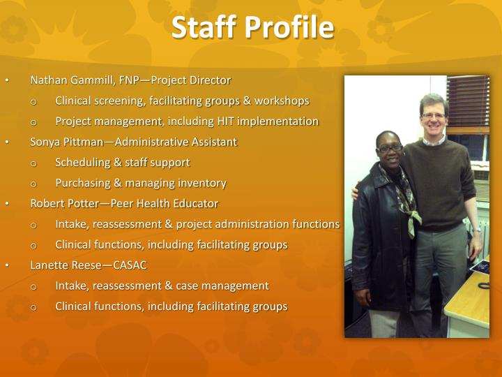 Staff Profile