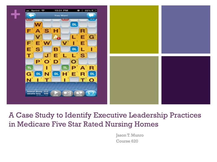 a case study to identify executive leadership practices in medicare five star rated nursing homes n.