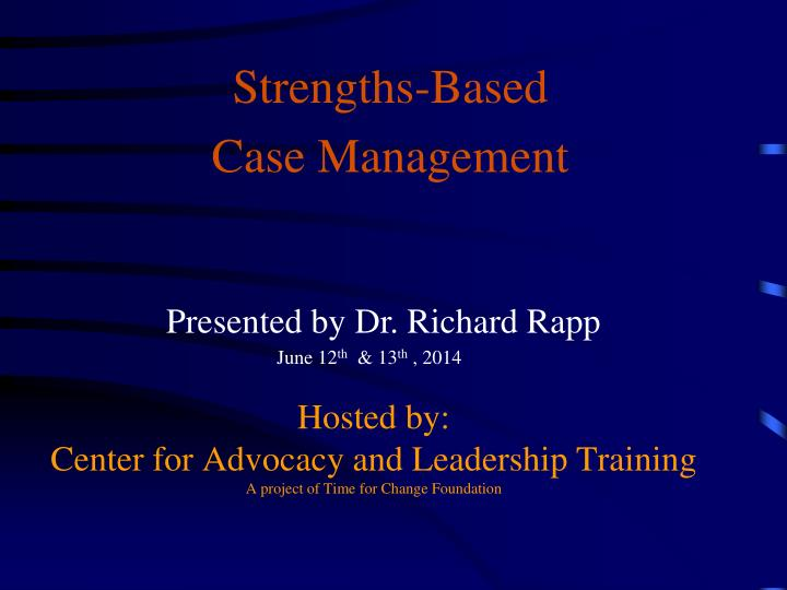 hosted by center for advocacy and leadership training a project of time for change foundation n.