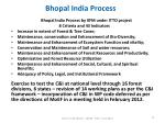 bhopal india process