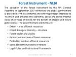 forest instrument nlbi