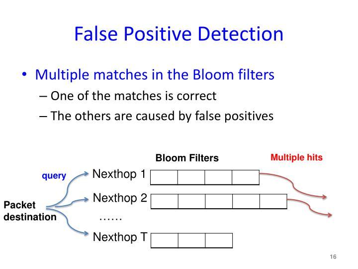 False Positive Detection