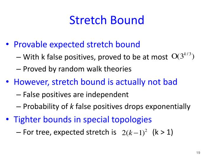 Stretch Bound