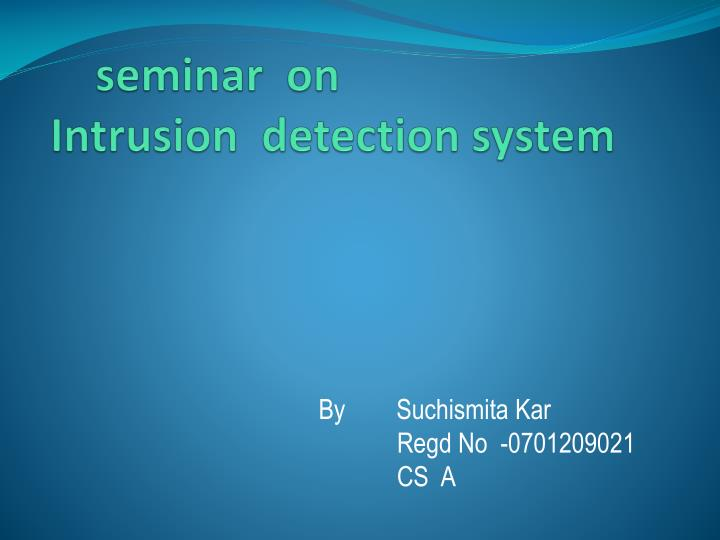 phd thesis on intrusion detection Phd thesis on intrusion detection phd thesis on intrusion detection intrusion detection is very important in the defense-in-depth network security framework and a hot topic in computer network.