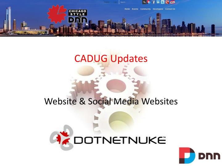 CADUG Updates