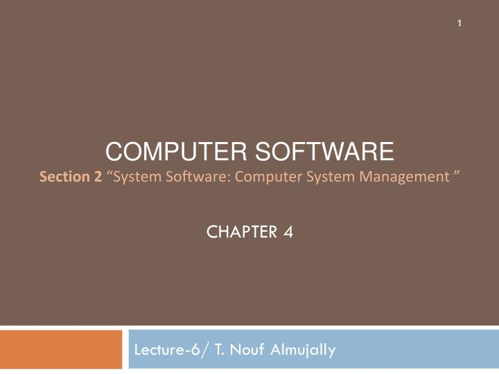lecture 6 t nouf almujally n.