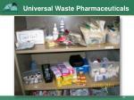 universal waste pharmaceuticals