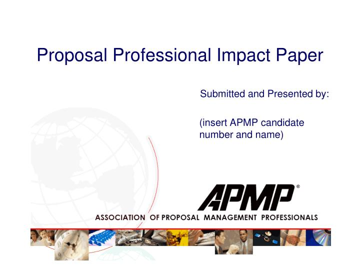 proposal professional impact paper n.