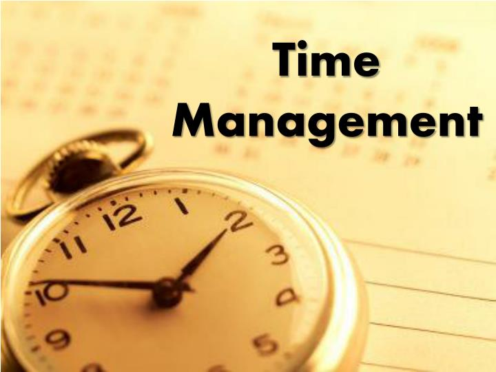 PPT Time Management PowerPoint Presentation free