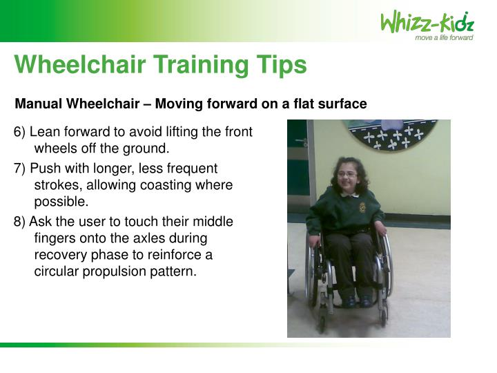 Wheelchair Training Tips