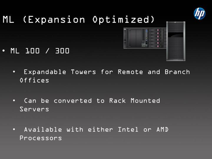 ML (Expansion Optimized)