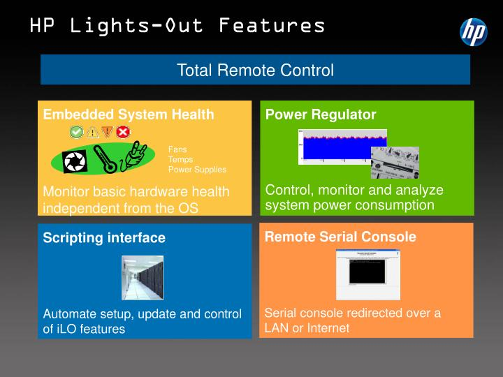 HP Lights-Out Features