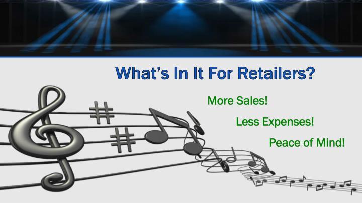 More Sales!