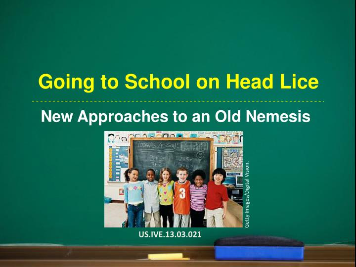 going to school on head lice