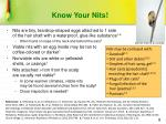 know your nits