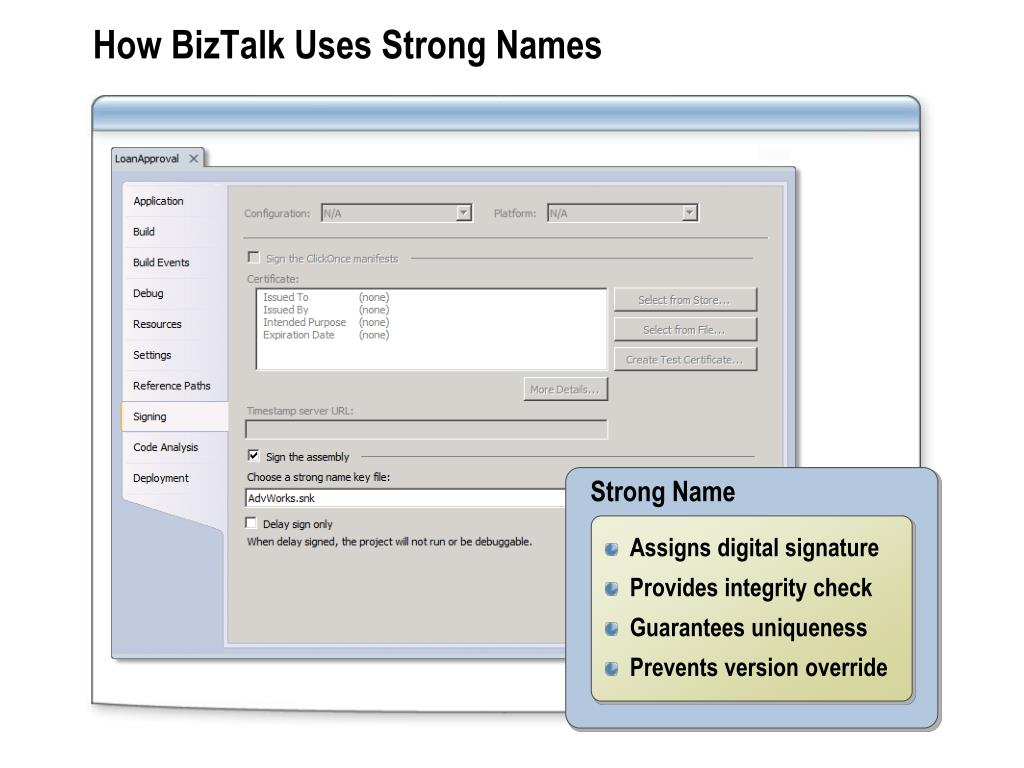 PPT - Module 4: Deploying and Managing BizTalk Applications