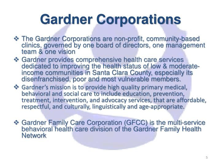 Gardner Corporations