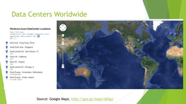 Data Centers Worldwide