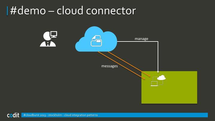 #demo – cloud connector