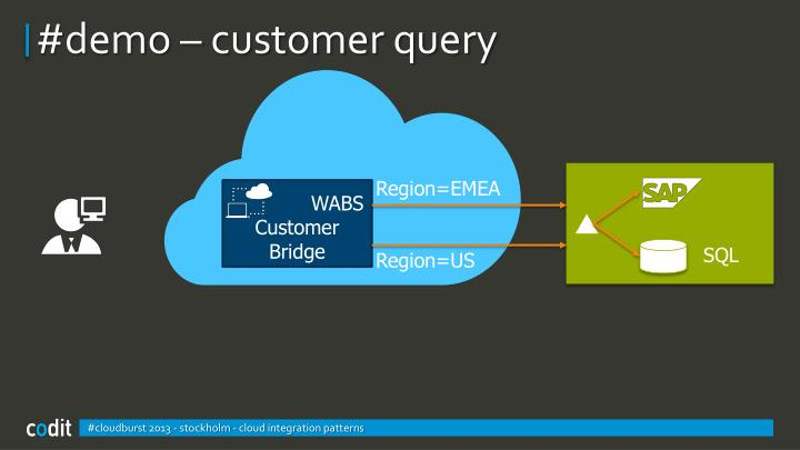 #demo – customer query