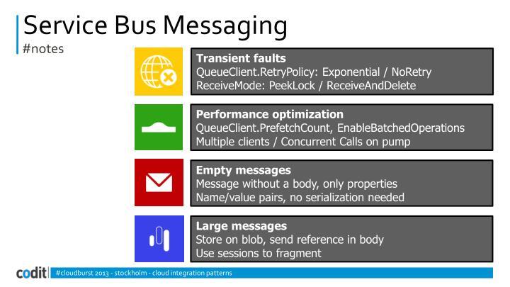 Service Bus Messaging