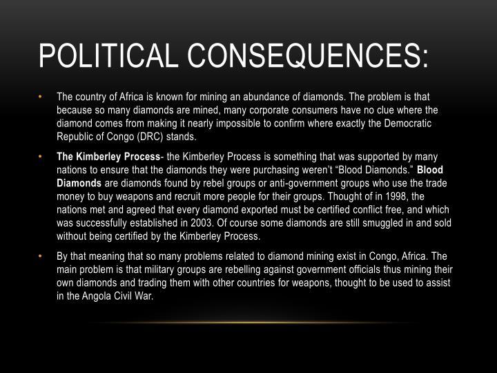 Political Consequences: