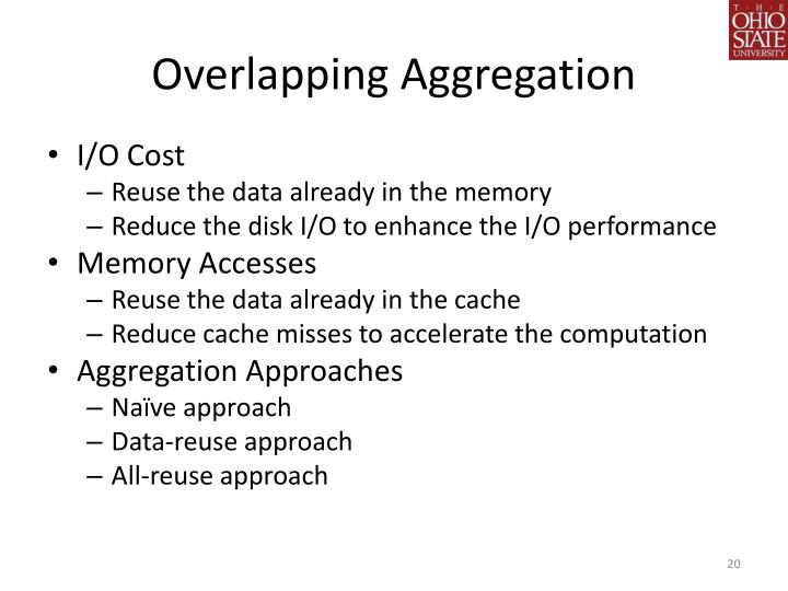 Overlapping Aggregation