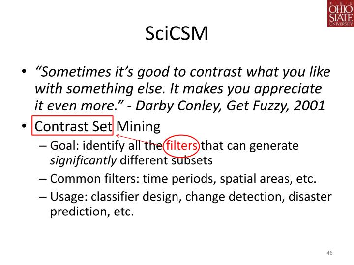 SciCSM
