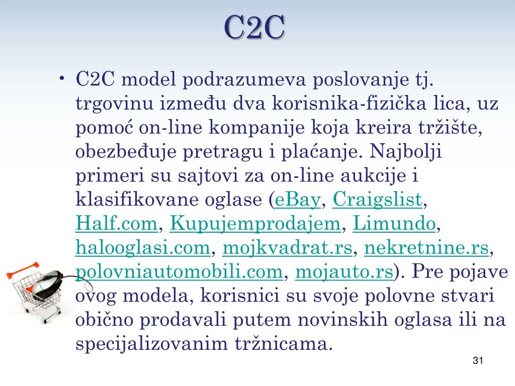 Ppt E Trgovina Lazar Jankovic Iv4 Powerpoint Presentation