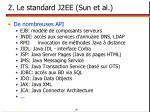 2 le standard j2ee sun et al