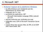 4 microsoft net