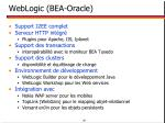 weblogic bea oracle