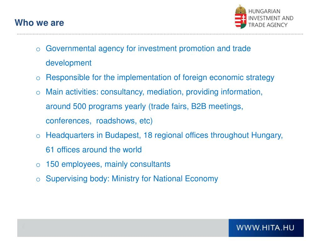 Hungary investment and trade development agency hfcf alternative investment fund