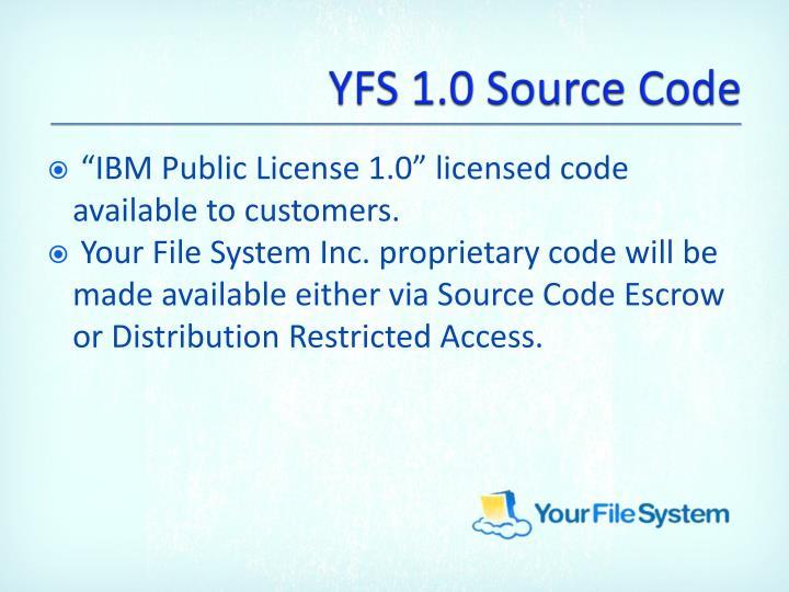 YFS 1.0 Source Code