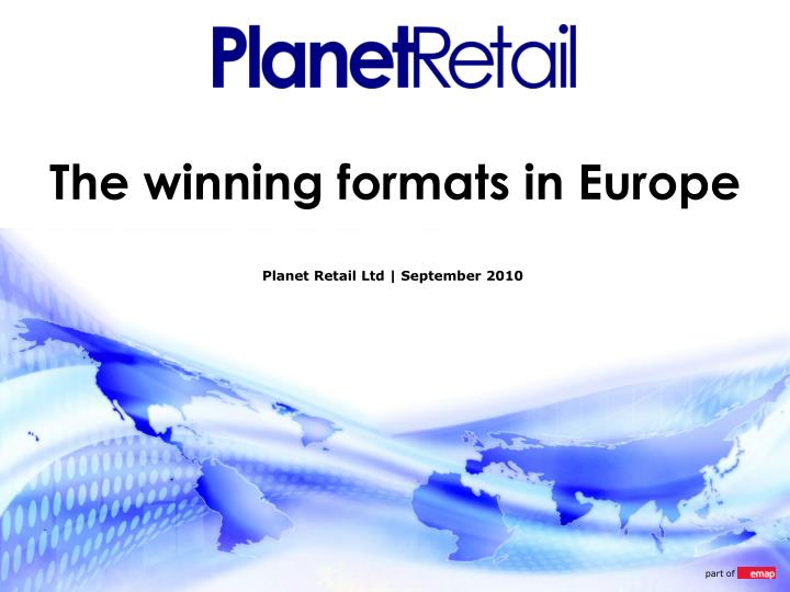 The winning formats in Europe