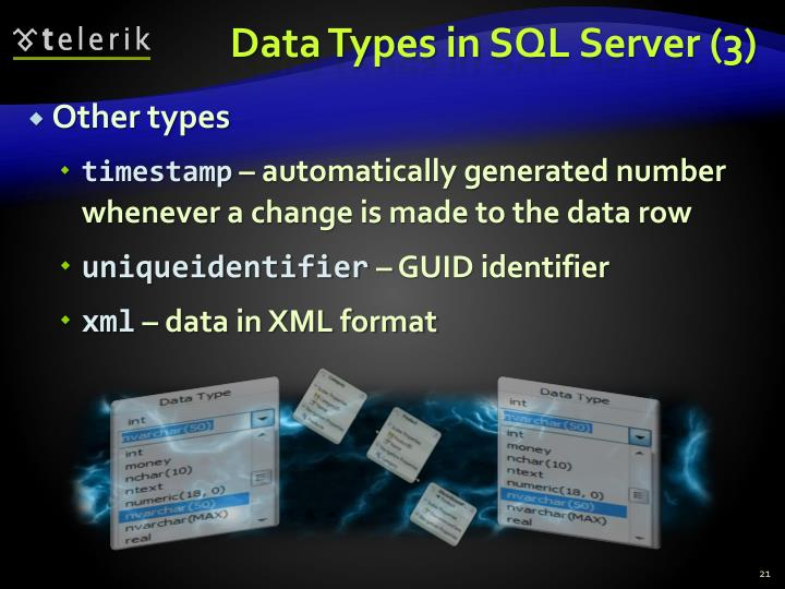 Data Types in
